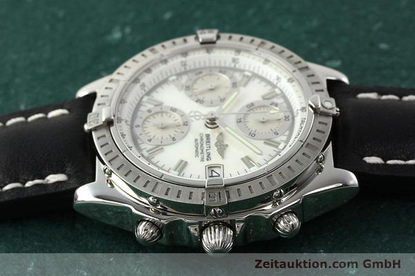 Used luxury watch Breitling Chronomat chronograph steel automatic Kal. B13 ETA 7750 Ref. A13352  | 142511 05