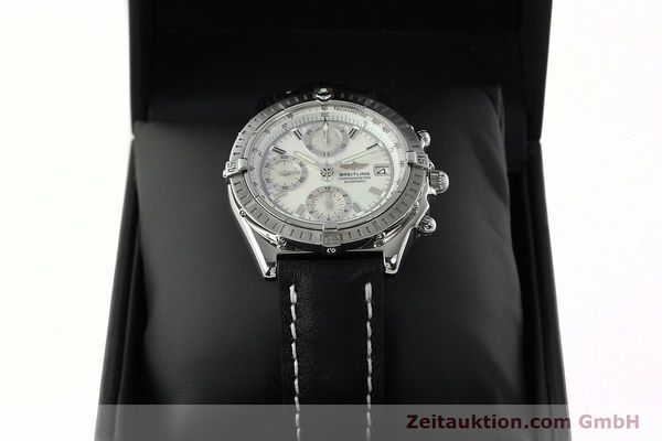 Used luxury watch Breitling Chronomat chronograph steel automatic Kal. B13 ETA 7750 Ref. A13352  | 142511 07