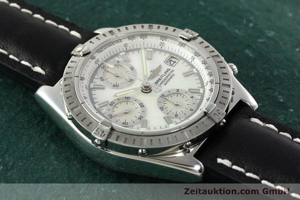 Used luxury watch Breitling Chronomat chronograph steel automatic Kal. B13 ETA 7750 Ref. A13352  | 142511 13