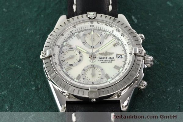 Used luxury watch Breitling Chronomat chronograph steel automatic Kal. B13 ETA 7750 Ref. A13352  | 142511 14