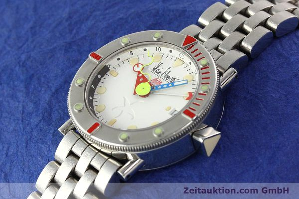 Used luxury watch Alain Silberstein Marine GMT steel automatic Kal. 1995 LIMITED EDITION | 142514 01