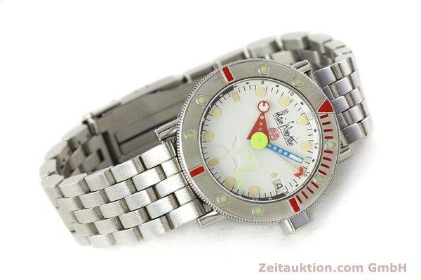 Used luxury watch Alain Silberstein Marine GMT steel automatic Kal. 1995 LIMITED EDITION | 142514 03
