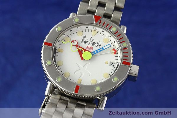 Used luxury watch Alain Silberstein Marine GMT steel automatic Kal. 1995 LIMITED EDITION | 142514 04