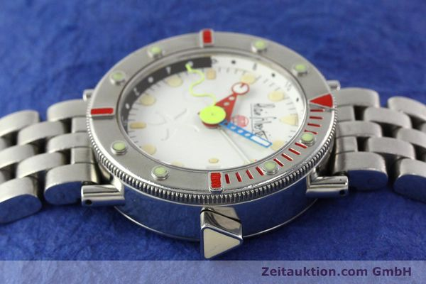 Used luxury watch Alain Silberstein Marine GMT steel automatic Kal. 1995 LIMITED EDITION | 142514 05