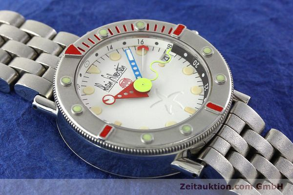 Used luxury watch Alain Silberstein Marine GMT steel automatic Kal. 1995 LIMITED EDITION | 142514 14
