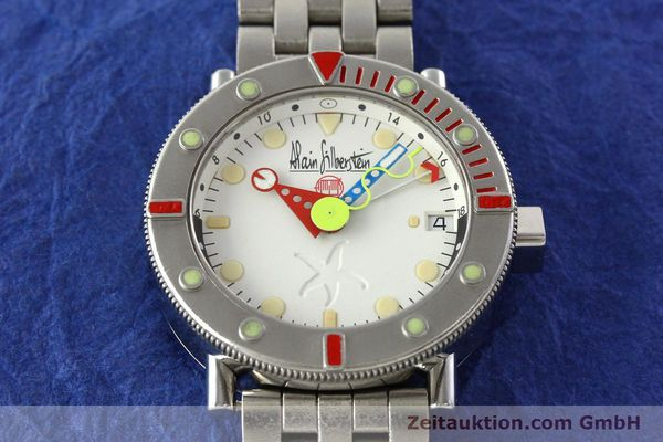 Used luxury watch Alain Silberstein Marine GMT steel automatic Kal. 1995 LIMITED EDITION | 142514 15