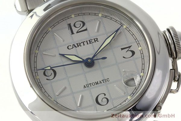 Used luxury watch Cartier Pasha steel automatic Kal. 049 ETA 2892A2  | 142516 02