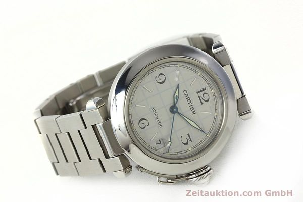Used luxury watch Cartier Pasha steel automatic Kal. 049 ETA 2892A2  | 142516 03
