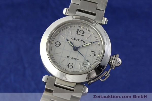 Used luxury watch Cartier Pasha steel automatic Kal. 049 ETA 2892A2  | 142516 04