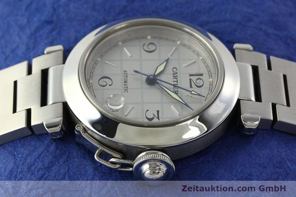 Used luxury watch Cartier Pasha steel automatic Kal. 049 ETA 2892A2  | 142516 05