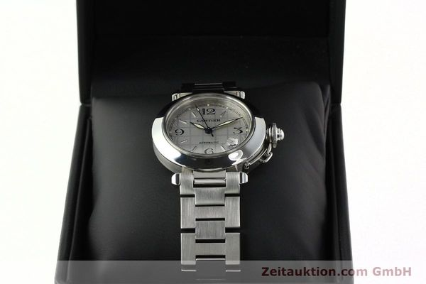 Used luxury watch Cartier Pasha steel automatic Kal. 049 ETA 2892A2  | 142516 07