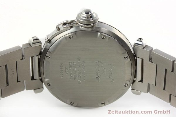 Used luxury watch Cartier Pasha steel automatic Kal. 049 ETA 2892A2  | 142516 09