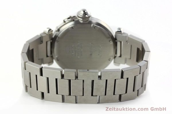 Used luxury watch Cartier Pasha steel automatic Kal. 049 ETA 2892A2  | 142516 11