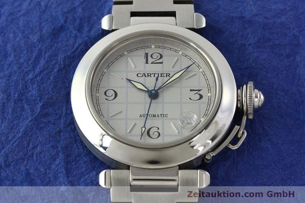 Used luxury watch Cartier Pasha steel automatic Kal. 049 ETA 2892A2  | 142516 15