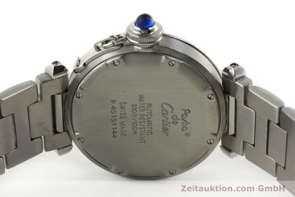 Used luxury watch Cartier Pasha steel automatic Kal. 049 ETA 2892-2  | 142518 09