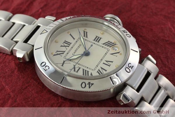 Used luxury watch Cartier Pasha steel automatic Kal. 049 ETA 2892-2  | 142518 14