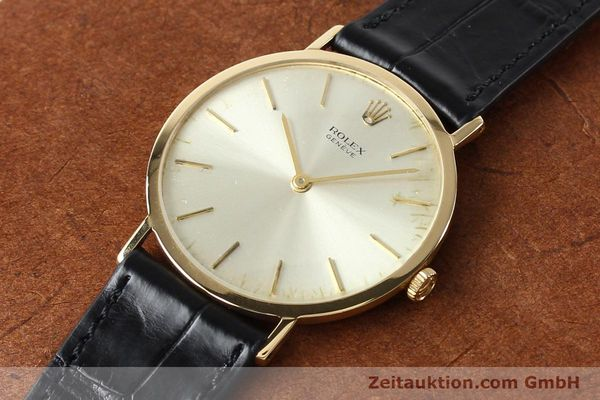Used luxury watch Rolex Cellini 18 ct gold manual winding Kal. 1600 Ref. 3602  | 142519 01