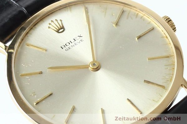 Used luxury watch Rolex Cellini 18 ct gold manual winding Kal. 1600 Ref. 3602  | 142519 02