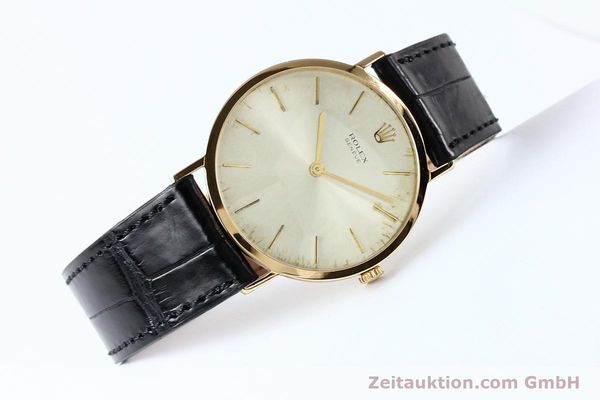 Used luxury watch Rolex Cellini 18 ct gold manual winding Kal. 1600 Ref. 3602  | 142519 03