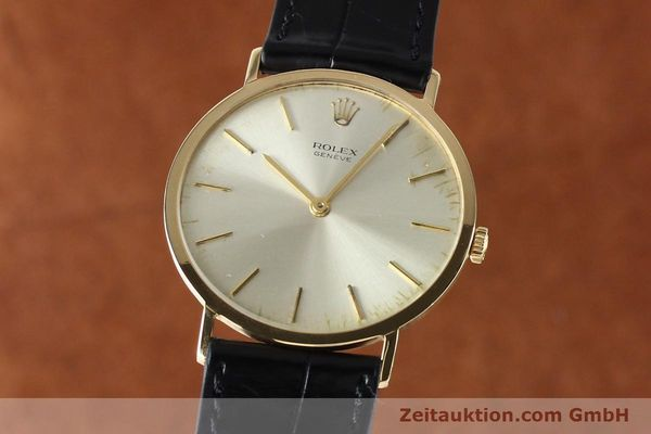 Used luxury watch Rolex Cellini 18 ct gold manual winding Kal. 1600 Ref. 3602  | 142519 04