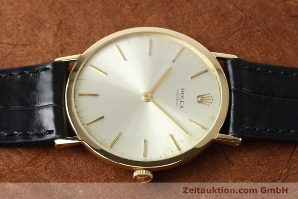 Used luxury watch Rolex Cellini 18 ct gold manual winding Kal. 1600 Ref. 3602  | 142519 05