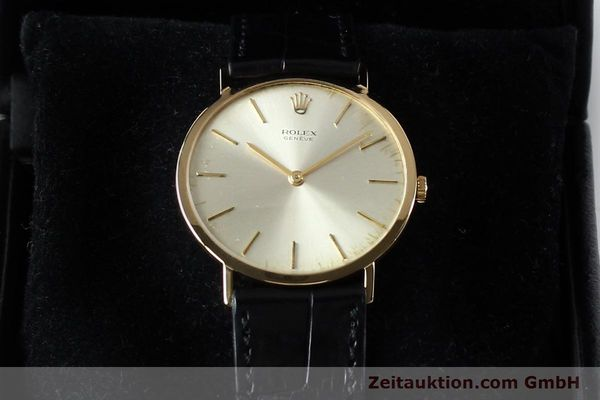 Used luxury watch Rolex Cellini 18 ct gold manual winding Kal. 1600 Ref. 3602  | 142519 07