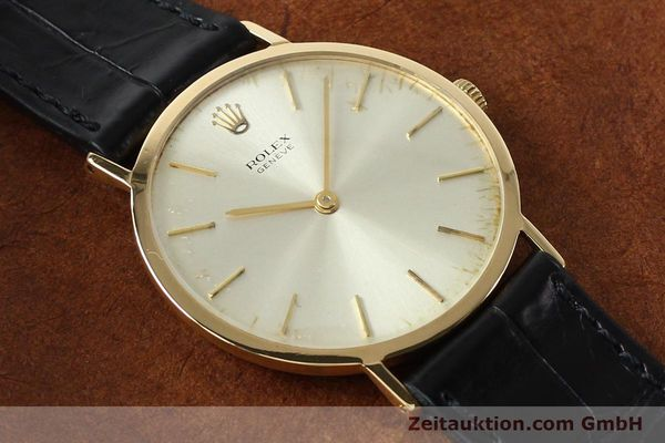 Used luxury watch Rolex Cellini 18 ct gold manual winding Kal. 1600 Ref. 3602  | 142519 13