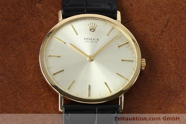 Used luxury watch Rolex Cellini 18 ct gold manual winding Kal. 1600 Ref. 3602  | 142519 14