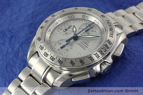 Used luxury watch Omega Speedmaster chronograph steel automatic Kal. 3600A Ref. 3540.50.00  | 142520 01