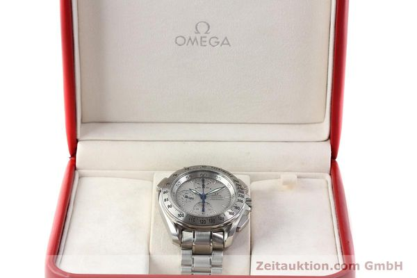 Used luxury watch Omega Speedmaster chronograph steel automatic Kal. 3600A Ref. 3540.50.00  | 142520 07