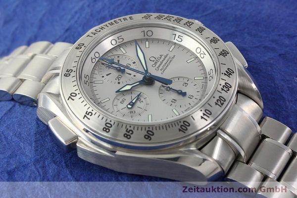 Used luxury watch Omega Speedmaster chronograph steel automatic Kal. 3600A Ref. 3540.50.00  | 142520 18