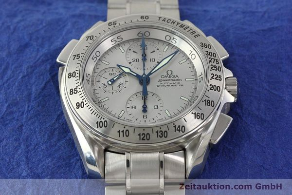 Used luxury watch Omega Speedmaster chronograph steel automatic Kal. 3600A Ref. 3540.50.00  | 142520 19