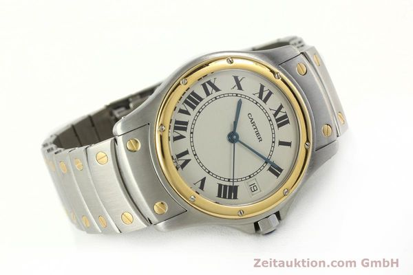 Used luxury watch Cartier Cougar steel / gold automatic Kal. 49 ETA 2892  | 142521 03