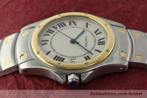 Used luxury watch Cartier Cougar steel / gold automatic Kal. 49 ETA 2892  | 142521 05