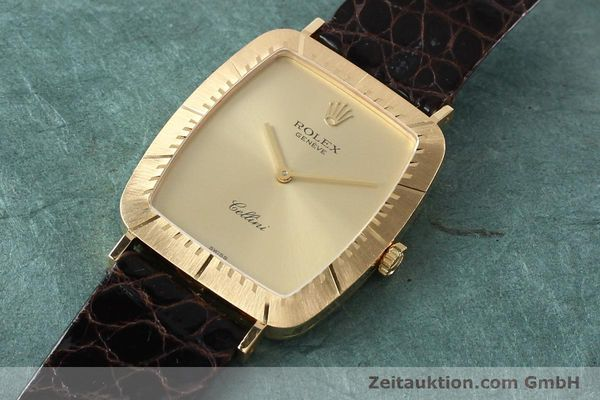 Used luxury watch Rolex Cellini 18 ct gold manual winding Kal. 1601 Ref. 4087  | 142522 01
