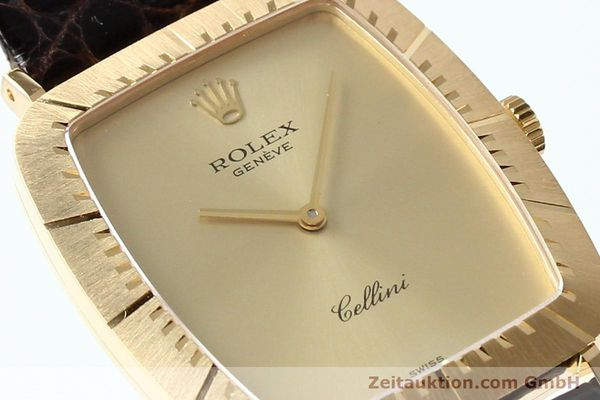 Used luxury watch Rolex Cellini 18 ct gold manual winding Kal. 1601 Ref. 4087  | 142522 02