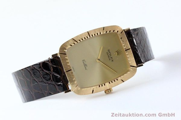 Used luxury watch Rolex Cellini 18 ct gold manual winding Kal. 1601 Ref. 4087  | 142522 03