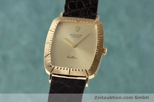 Used luxury watch Rolex Cellini 18 ct gold manual winding Kal. 1601 Ref. 4087  | 142522 04