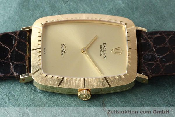 Used luxury watch Rolex Cellini 18 ct gold manual winding Kal. 1601 Ref. 4087  | 142522 05