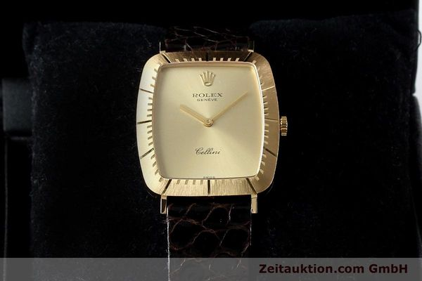 Used luxury watch Rolex Cellini 18 ct gold manual winding Kal. 1601 Ref. 4087  | 142522 07
