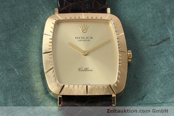 Used luxury watch Rolex Cellini 18 ct gold manual winding Kal. 1601 Ref. 4087  | 142522 15