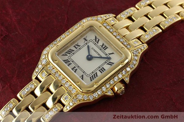 montre de luxe d occasion Cartier Panthere or 18 ct quartz Kal. 157  | 142523 01