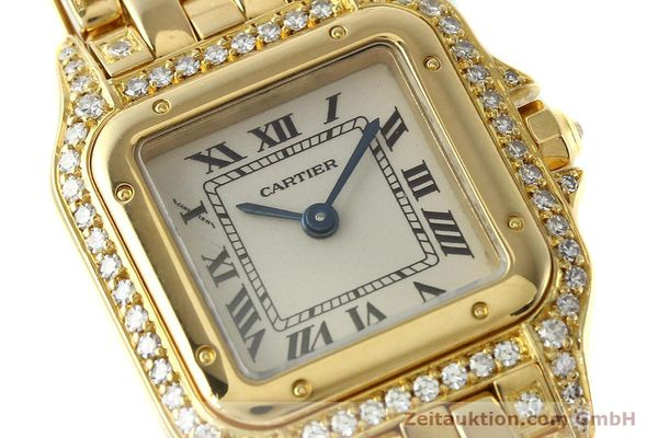 montre de luxe d occasion Cartier Panthere or 18 ct quartz Kal. 157  | 142523 02