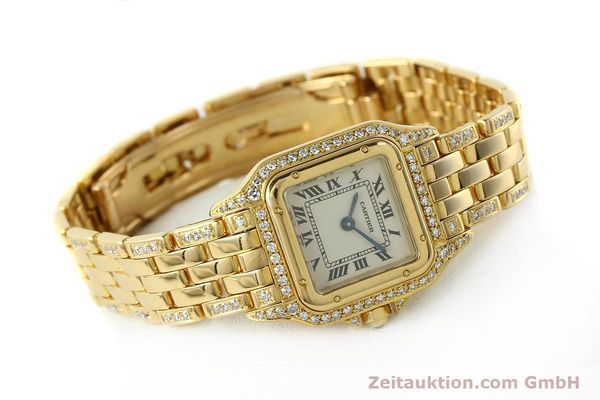 montre de luxe d occasion Cartier Panthere or 18 ct quartz Kal. 157  | 142523 03