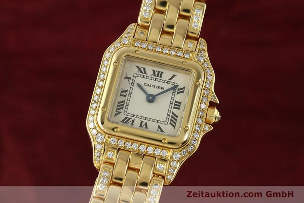 montre de luxe d occasion Cartier Panthere or 18 ct quartz Kal. 157  | 142523 04