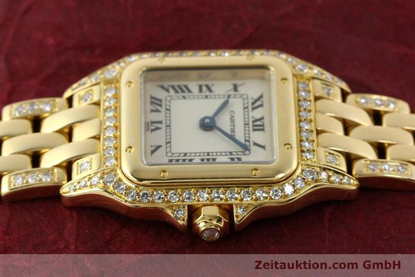 montre de luxe d occasion Cartier Panthere or 18 ct quartz Kal. 157  | 142523 05