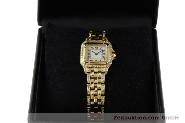 montre de luxe d occasion Cartier Panthere or 18 ct quartz Kal. 157  | 142523 07