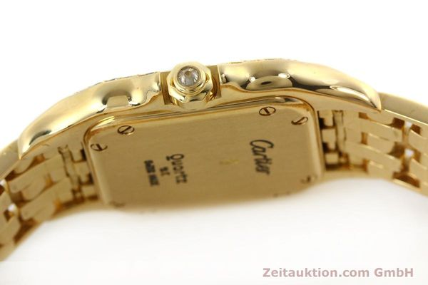 montre de luxe d occasion Cartier Panthere or 18 ct quartz Kal. 157  | 142523 08