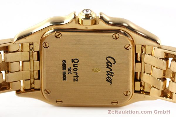montre de luxe d occasion Cartier Panthere or 18 ct quartz Kal. 157  | 142523 09