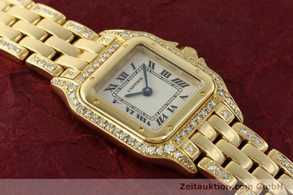montre de luxe d occasion Cartier Panthere or 18 ct quartz Kal. 157  | 142523 14